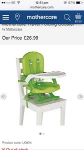 Mothercare Travel Folding Booster Seat Chair In S42 Derbyshire For ... Fniture Stylish Ciao Baby Portable High Chair For Modern Home Does This Carters High Chair Fold Up For Storage Shop Your Way Bjorn Trade Me Safety First Fold Up Booster Outdoor Chairs Camping Seat 16 Best 2018 Travel Folds Into A Carrying Bag Just Amazoncom Folding Eating Toddler Poppy Toddler Seat Philteds Mothercare In S42 Derbyshire Travel Brnemouth Dorset Gumtree