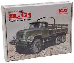 100 Zil Truck Buy ICM Models ZIL131 Soviet Army Vehicle Online At Low
