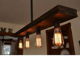 Triple Wood Stack Lights