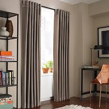 Kenneth Cole Reaction Home Soho Velvet Lined Window Curtain Panel