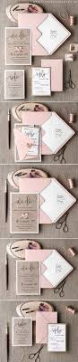 Pink Eco Handmade Wedding Invitation Summerwedding Weddinginvitations