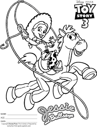 Toy Story 2 Coloring Pages 62