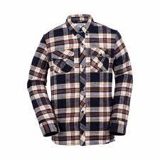 volcom store boulder volcom simons insulated flannel shirts navy