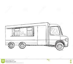 Hand Drawn Food Truck. Delivery Service Stock Image - Image Of Free ... Hand Drawn Food Truck Delivery Service Sketch Royalty Free Cliparts Local Zone Map For Same Day Boston Region Icon Vector Illustration Design Delivery Service Shipping Truck Van Of Rides Stock Art Concept Of The Getty Images With A Cboard Box Fast Image Free White Glove Jacksonville Fl Lighthouse Movers Inc Drawn Food Small Luxurious For