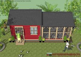 Ana White Shed Chicken Coop by Combo Plans U2013 Chicken Coop Plans Construction Garden Sheds Plans