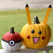 Printable Pokemon Pumpkin Carving Patterns by No Carve Pokemon Pumpkins The Resourceful Mama