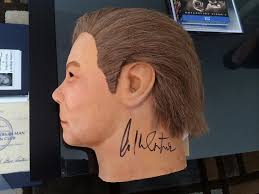 Halloween Mask William Shatners Face by William Shatner Confirmation It Actually Happened Michael