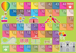 Amusement Park Game Vector Template