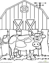 Click Clack Moo Coloring Pages 15 Farm Vehicles Page