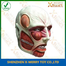 Halloween Resurrection Maske by Human Error Resurrection Mask Skinless Corpse Zombie Halloween