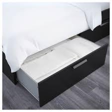 brimnes bed frame with storage headboard queen lönset ikea