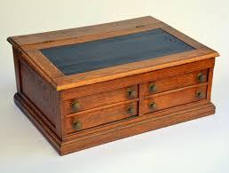 Vintage Tiger Oak Dresser by Antique Wooden Thread Spool Cabinet Cashiers Desk Book