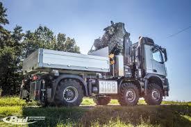 100 6x6 Truck Conversion Arocs With Heavyduty Crane Ballast Bridge Paul Nutzfahrzeuge EN