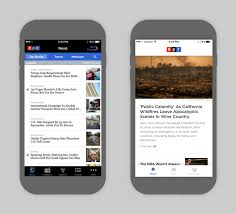 Design Show and Tell the NPR News App Gets a Facelift