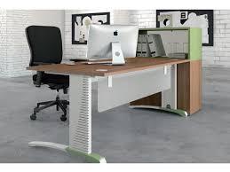 bureau m allique bureau avec pied métal c2 système poutre couleur contact jmf burotik