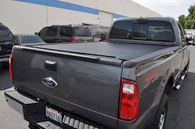 Ford F150 Bed Cover Retractable Luxury Rollbak Tonneau Cover ...