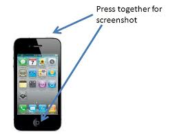 How to take a screenshot image of an iPhone iPad or iPod Touch