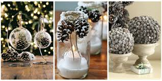 Outdoor Christmas Decorations Ideas On A Budget by 21 Holiday Pine Cone Crafts Ideas For Pinecone Christmas Decorations