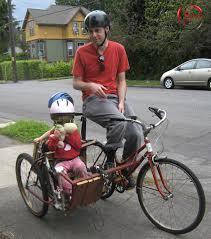 siege velo vtt vélo avec sidecar pour enfants bike trailer pour