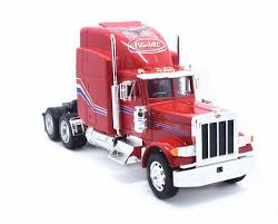 Welly 1:32 Peterbilt 379 Semi Tractor Trailer Diecast Model Red New ...