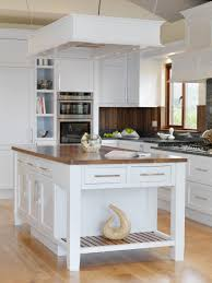 Kitchen Island With Seating For 4 Wood Blue Freestanding