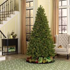 Ge Pre Lit Christmas Trees 9ft by Ge 75 Pre Lit Christmas Tree Christmas Lights Decoration