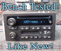 100 Truck Stereo Amazoncom UNLOCKED CHEVY GM GMC CD DISC TAPE STEREO TRUCK SUV