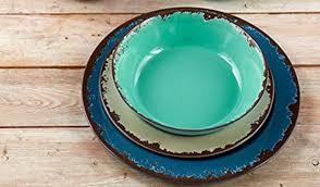 Dinnerware Rustic Melamine Sets