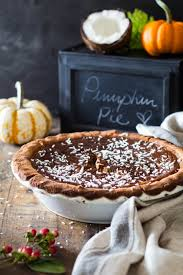 Healthy Pumpkin Desserts For Thanksgiving by Healthy Pumpkin Pie Green Healthy Cooking
