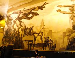 Diego Rivera Rockefeller Mural by New York City Rockefeller Center From Diego Rivera To U2026 Flickr