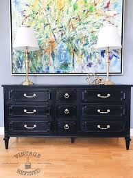 Best 25 Black painted dressers ideas on Pinterest