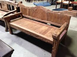 Rustic And Antique Wood Benches San Diego