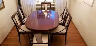 reserviert esstisch mit 6 stühlen zu verkaufen der marke kondor