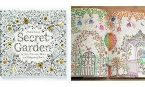 Trend Matters Adult Anti Stress Secret Garden Coloring Book