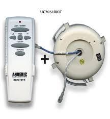Hampton Bay Ceiling Fan Remote Control by Hampton Bay Ceiling Fan Kit For Uc7051r Uc7078t Remote Control