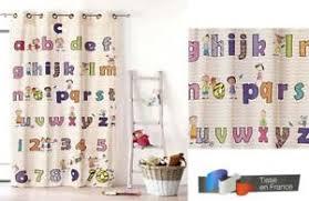 rideaux pour chambre enfant rideaux abécé pour chambre enfant ebay