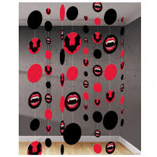 Carnival Scene Setters Halloween by Fangtastic Vampire Lips Wall Decoration By Amscan Halloween Costumes