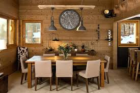 Modern Rustic Dining Room Sets Lighting Ideas