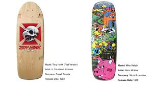 Powell Peralta Tony Hawk Skateboard Decks by Interview Sean Cliver Discusses