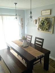 Rustic Dining Room Decor Brilliant Wall With Best
