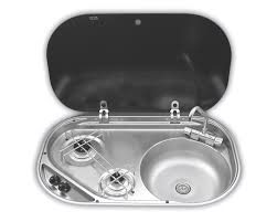 Coleman Portable Sink Uk by Smev 8302 2 Burner Hob U0026 Sink Combination Unit Combination