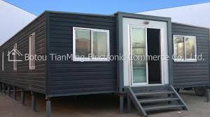 100 Prefab Container Houses Extended Foldable Homes 40ft Folding Living