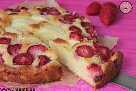 erdbeer apfelkuchen