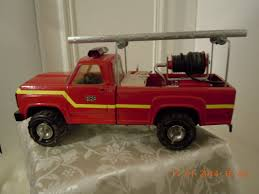 I Made This Fire Engine Out Of A Tonka Toy. | Tin Toys | Pinterest ...