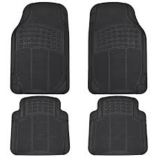 100 Truck Floor Mat BDK All Weather Rubber S For Car SUV 4 Pieces Set