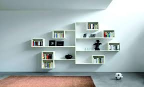 Bedroom Wall Shelves Decorating Ideas Inspirations Also