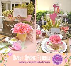Table Setting Ideas Baby Shower Spring With A Garden Theme Decorating Tips