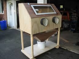 Harbor Freight Sandblast Cabinet Manual by Homemade Sandblasting Cabinet The Fordification Com Forums