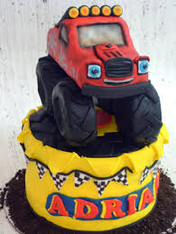 99 How To Make A Monster Truck Cake Pper 100 Edible Etsy