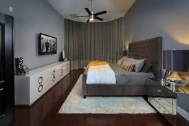 Quite Dark But Yet Interesting Decor That Is Perfect For A Guys Bedroom